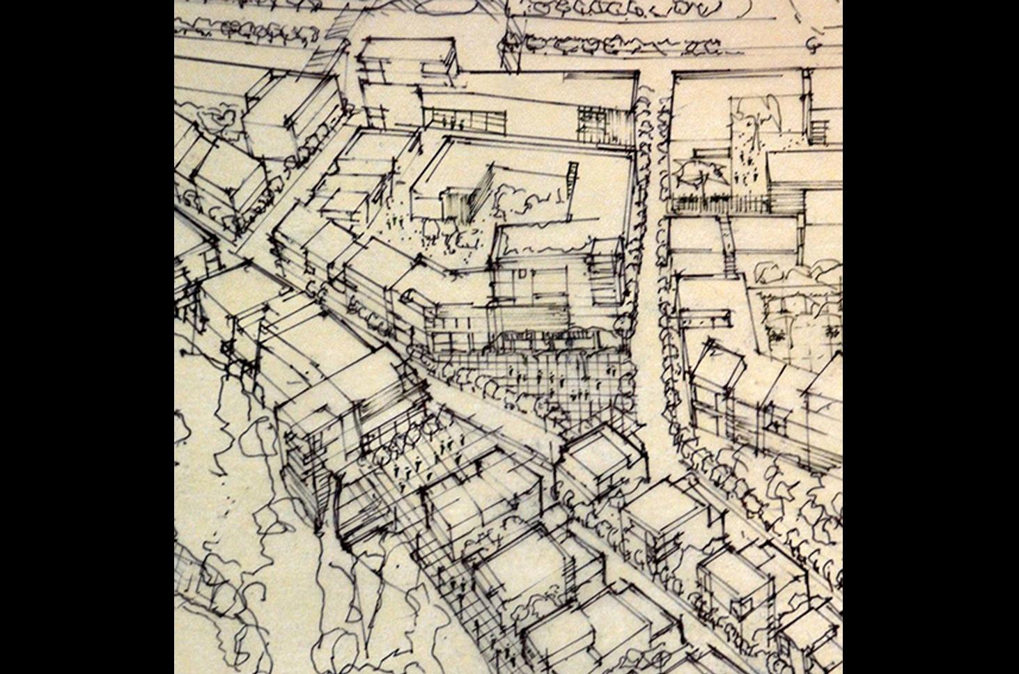 Tibilisi_perspective sketch