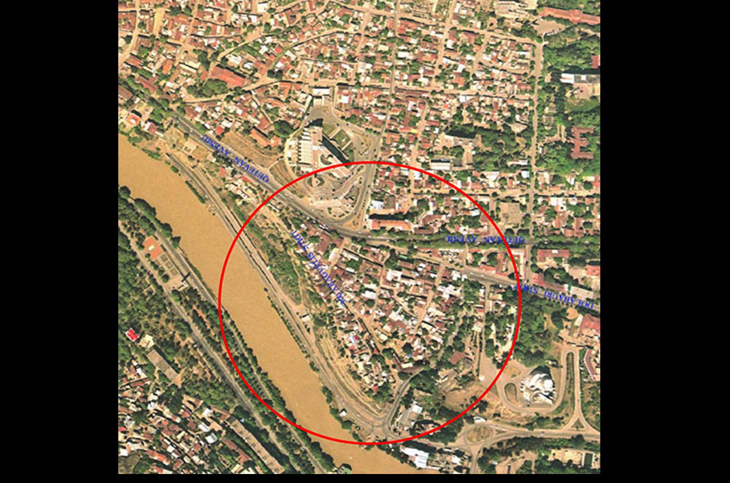 Tibilisi_aerial photo